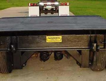Moore Truck and Equipment Inventory: 1982 Nabors Tandem Axle Pin-On Dolly