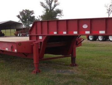 Moore Truck and Equipment Inventory: 2009 Viking Trailers 5 Axle Oilfield Lowboy