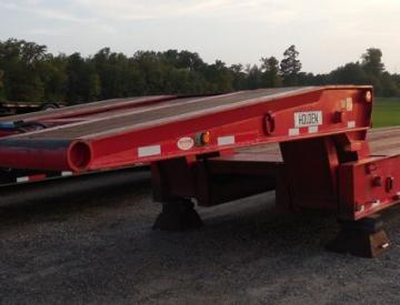 Moore Truck and Equipment Inventory: 2013 Holden 3 Axle 50 Ton Oilfield Folding Neck Lowboy