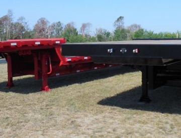 Moore Truck and Equipment Inventory:  Blackstone Aztec 3 Axle Oilfield Step Deck