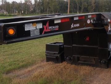 Moore Truck and Equipment Inventory:  XL Specialized Trailers Model 110HDG 3 Axle Lowboy w/4th Axle Flip