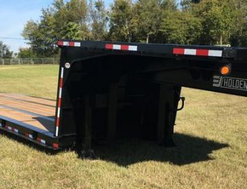Moore Truck and Equipment Inventory:  Holden 20 Ton Tandem Axle Double Drop Cooler-Hauling Trailer
