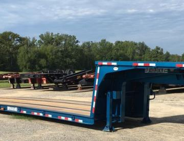 Moore Truck and Equipment Inventory:  Holden 20 Ton Tandem Axle Cooler Hauling Trailer