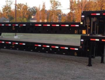 Moore Truck and Equipment Inventory:  Viking Trailers 3 Axle 53' Oilfield Step Deck