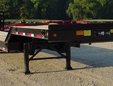 Moore Truck and Equipment Inventory:  Viking Trailers 3 Axle 50 Ton Loadhandler Lowboy