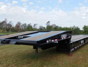 Moore Truck and Equipment Inventory:  Holden 3 Axle 50 Ton Folding Neck Oilfield Lowboy