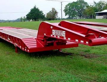 Moore Truck and Equipment Inventory:  Holden 4 Axle 60 Ton Oilfield Detach Neck Lowboy