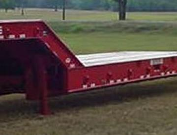 Moore Truck and Equipment Inventory:  Holden 4 Axle Oilfield Stretch Lowboy