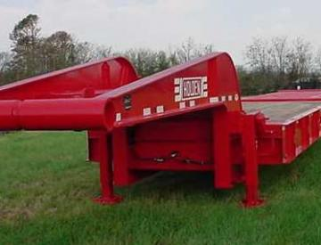 Moore Truck and Equipment Inventory:  Holden 4 Axle 60 Ton Narrow Neck Oilfield Stretch Lowboy