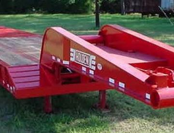 Moore Truck and Equipment Inventory:  Holden 5 Axle Oilfield Detach Neck Lowboy