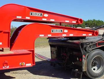 Moore Truck and Equipment Inventory:  Holden Tandem Axle 40 Ton Oilfield Lowboy
