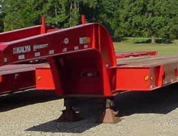 Moore Truck and Equipment Inventory:  KalynSiebert 5 Axle Fixed Neck Oilfield Lowboy
