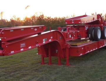 Moore Truck and Equipment Inventory:  KalynSiebert 80 Ton 3+5+2 Combination Trailer