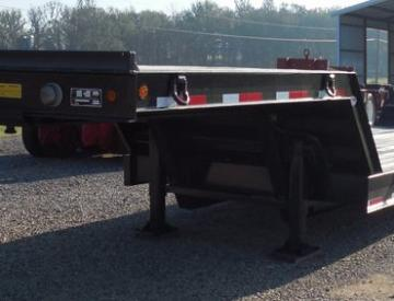 Moore Truck and Equipment Inventory:  Viking Trailers 3 Axle 40 Ton Double Drop Loadhandler Lowboy