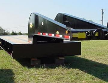 Moore Truck and Equipment Inventory:  Viking Trailers 4 Axle 60 Ton Oilfield Lowboy