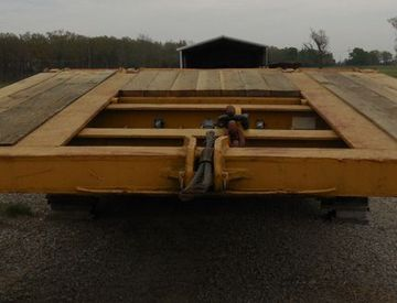 Moore Truck and Equipment Inventory: 1978 LoadKing 100 Ton Folding Neck Lowboy