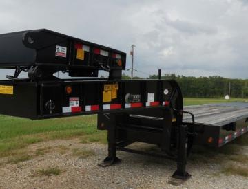 Moore Truck and Equipment Inventory:  Viking Trailers 4 Axle 50 Ton Oilfield Lowboy